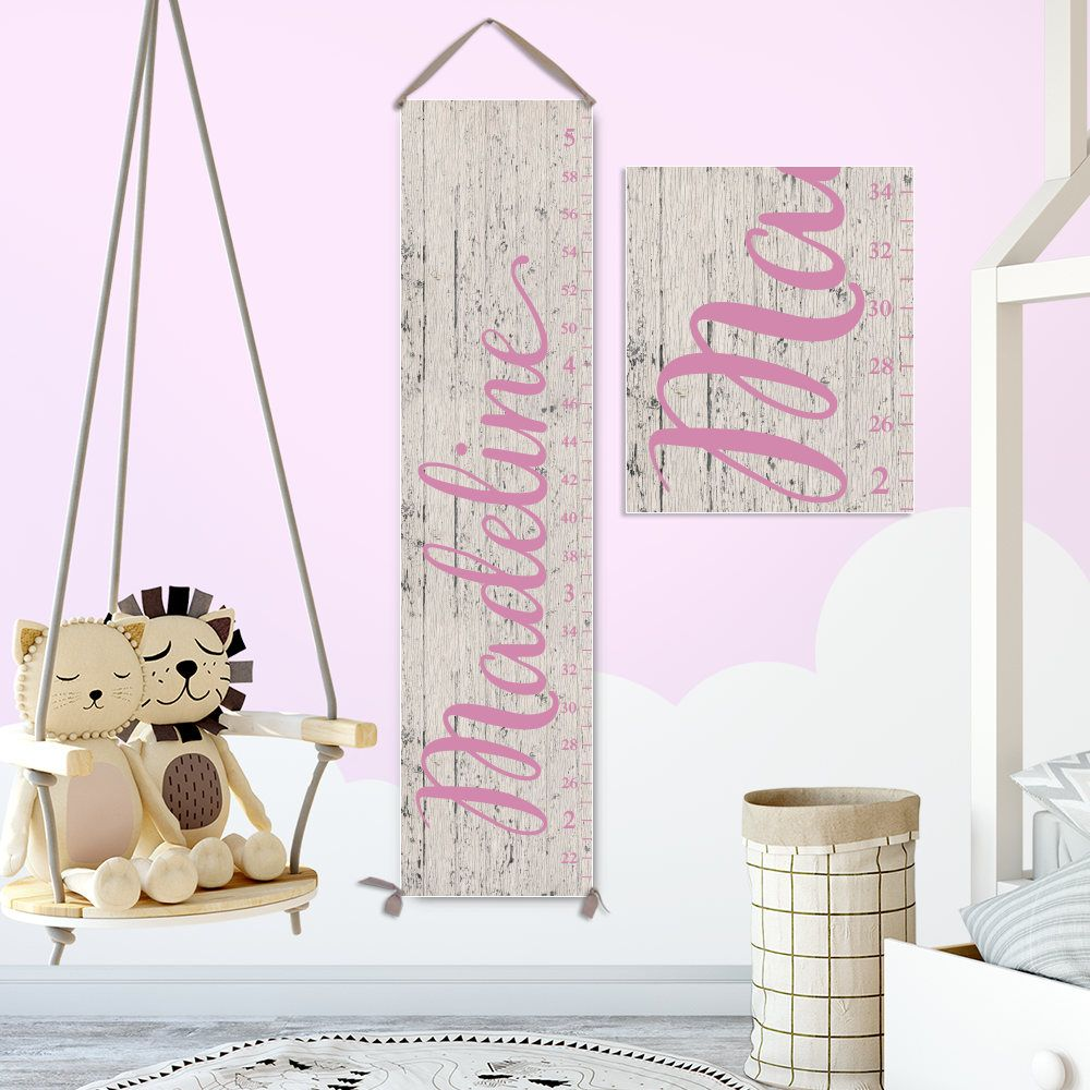 Growth chart ruler for girl personalized growth chart canvas growth chart ruler for girl personalized growth chart canvas wooden growth chart canvas nvjuhfo Images
