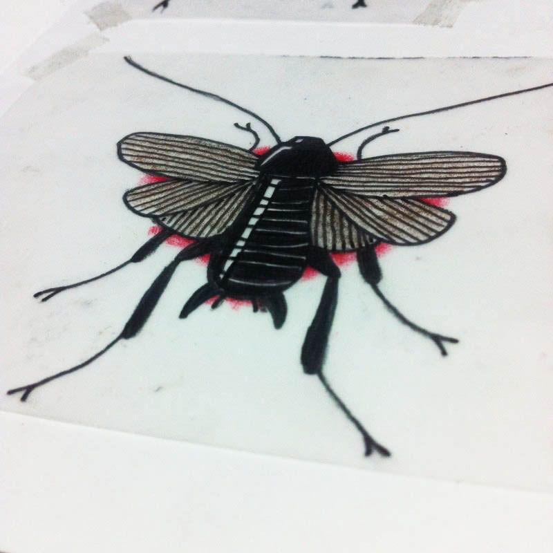 Fly Bug Beetle - Tattoo Sketch New School