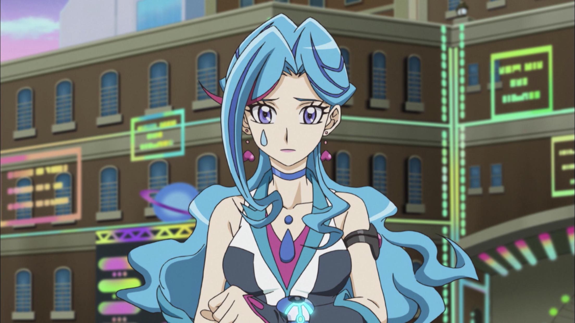 yugioh vrains  blue maiden  yugioh maiden anime