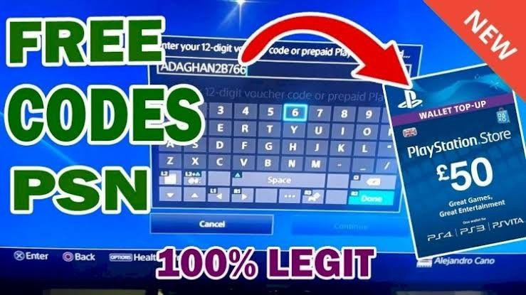 fc7dc016633560a4d95898fc6ba3e874 - How To Get Free Playstation Codes Legit Working Method