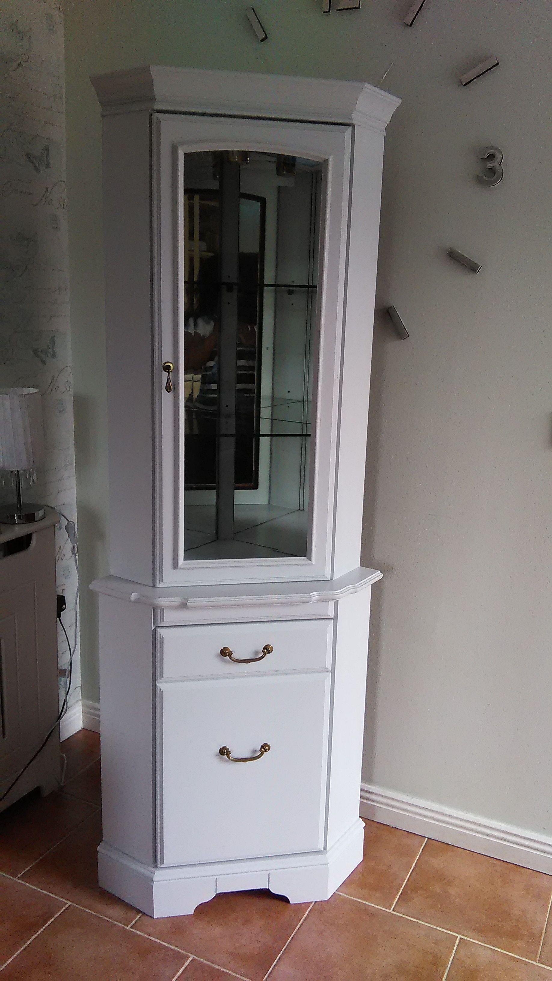 White Corner Glass Display Cabinet Glass Cabinets Display Front Room Display Cabinet
