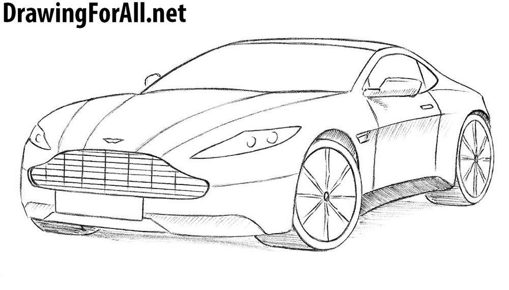 Excelente Aston Martin Para Colorear Ornamento - Dibujos de Animales ...