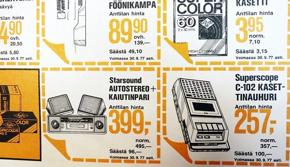 Anttilan kuvastoa 5/1977. yle.fi/lomamatka70luvulle