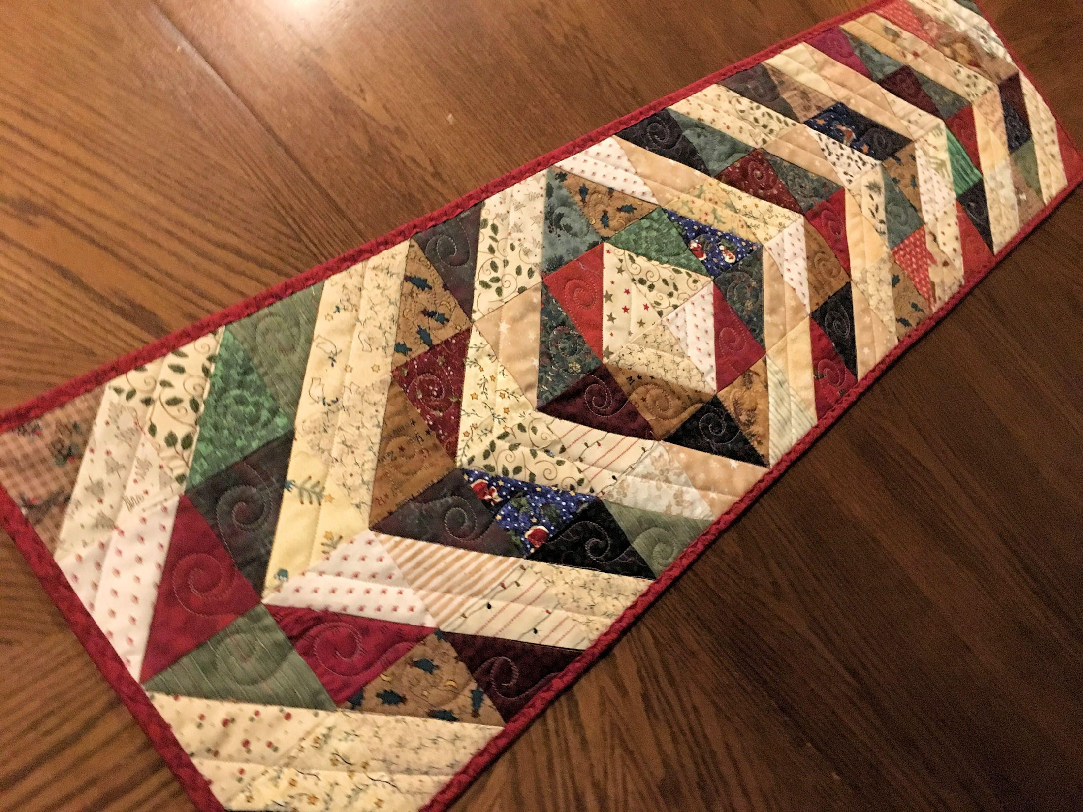 table moda quilt shop runner quilted bake candy squares