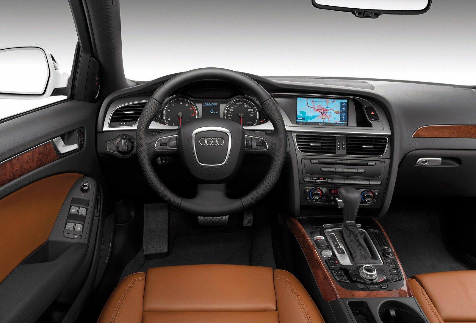 Audi A4 Interior Hd Wallpaper | Audi Wallpapers | Pinterest | Audi ...