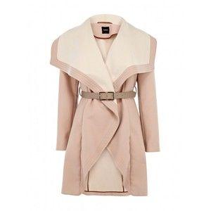 Primark Pale Pink Crombie coat, 32