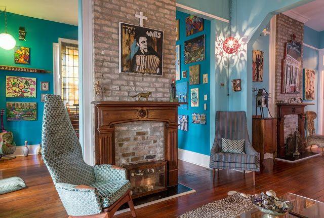 Punk in New Orleans - Einrichtung zum Selbermachen im entspannten - esszimmer im wohnzimmer