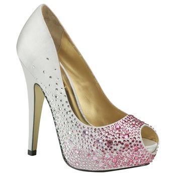 Benjamin Adams Salvador Fuschia Evening Shoes - Wedding Shoes - Crystal Bridal Accessories