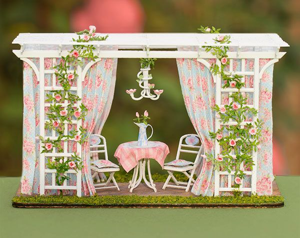1:48 Romantic Garden Room – Complete Kit