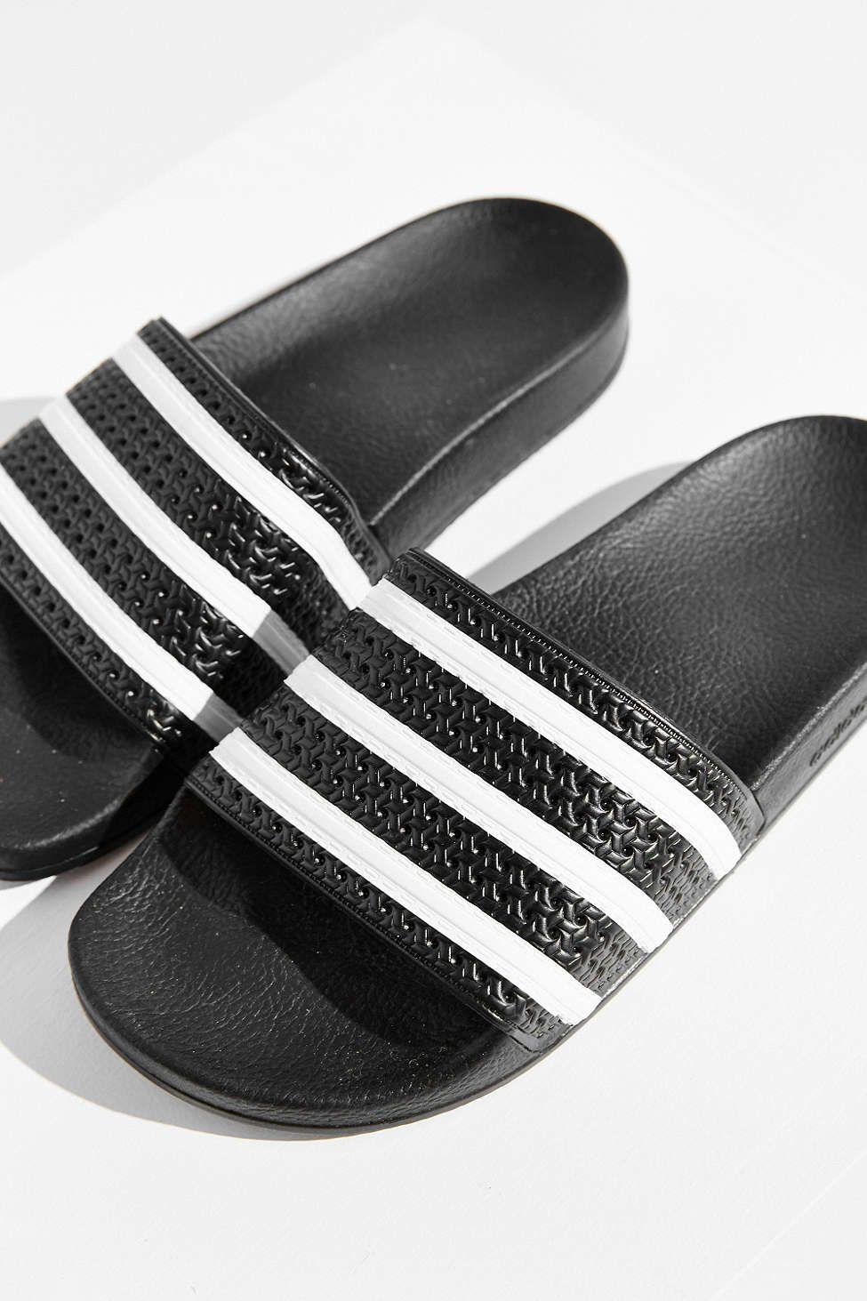 meet 1e2f4 fcc2c adidas Originals Adilette Pool Slide Sandal  vegan shoes