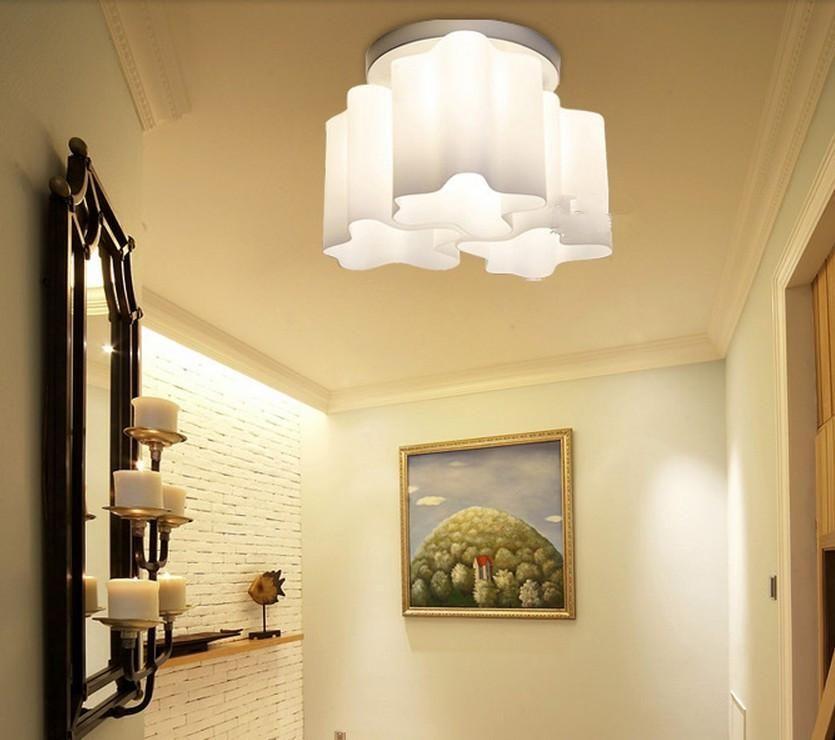 Modern Logico Ceiling Lamp Lounge Living Light Twist
