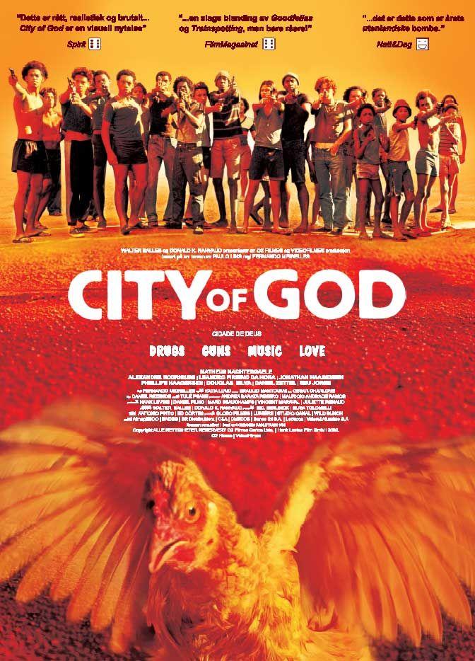 City Of God Cidade De Deus Filme Cidade De Deus E I Love Cinema