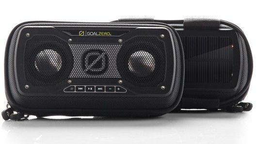 Goal Zero Announces Rock Out 2 Solar Speaker With Images Goal Zero Portable Solar Power Portable Speaker
