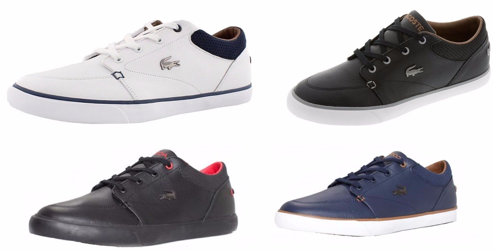 d0a695a76cca NEW Lacoste Men s Casual Shoes Bayliss Vulc 317 US Cam Fashion Lace Up  Sneakers