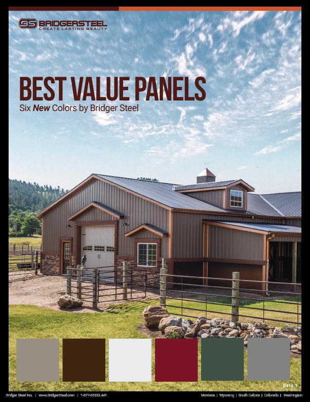 Best Bridger Steel Economical Metal Colors Steel House 400 x 300