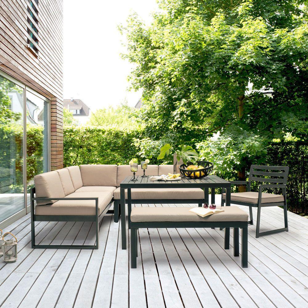 Salon De Jardin Kettler Ocean Salon De Jardin Gamm Vert Salon De Jardin Mobilier Jardin Canape Angle