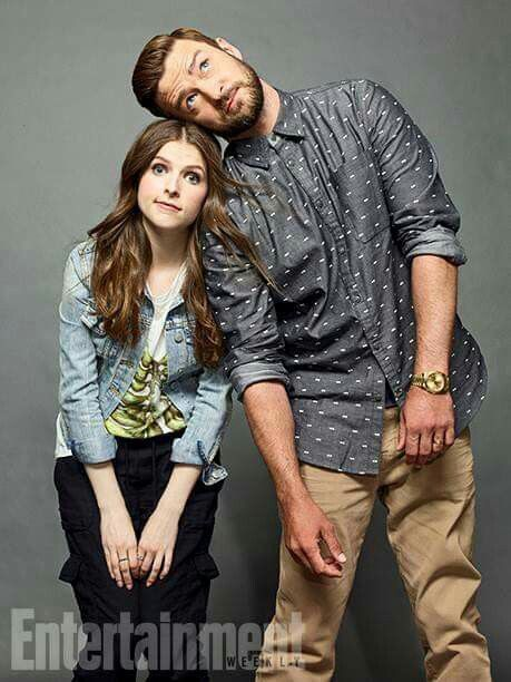 San Diego Comic Con Portraits From Entertainment Weekly Of Anna Kendrick With Justin Timberlake