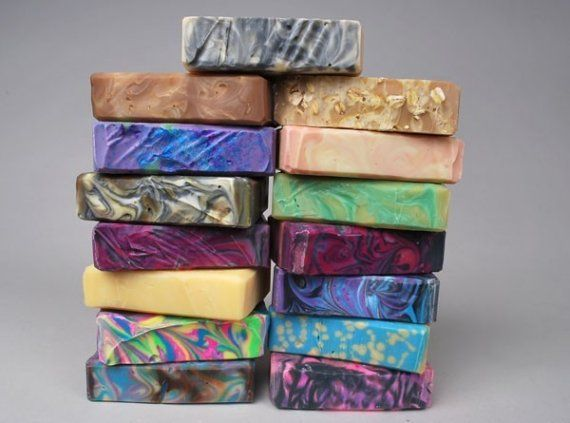 15 soaps for $53. You pick the scents. By burntmill via Etsy.