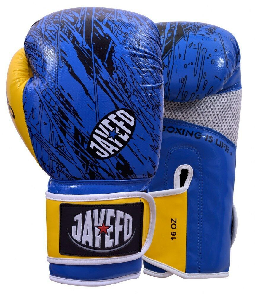 Jayefo R1 UW Leather Boxing Gloves Muay Thai Punching Bag Sparring Gloves mma