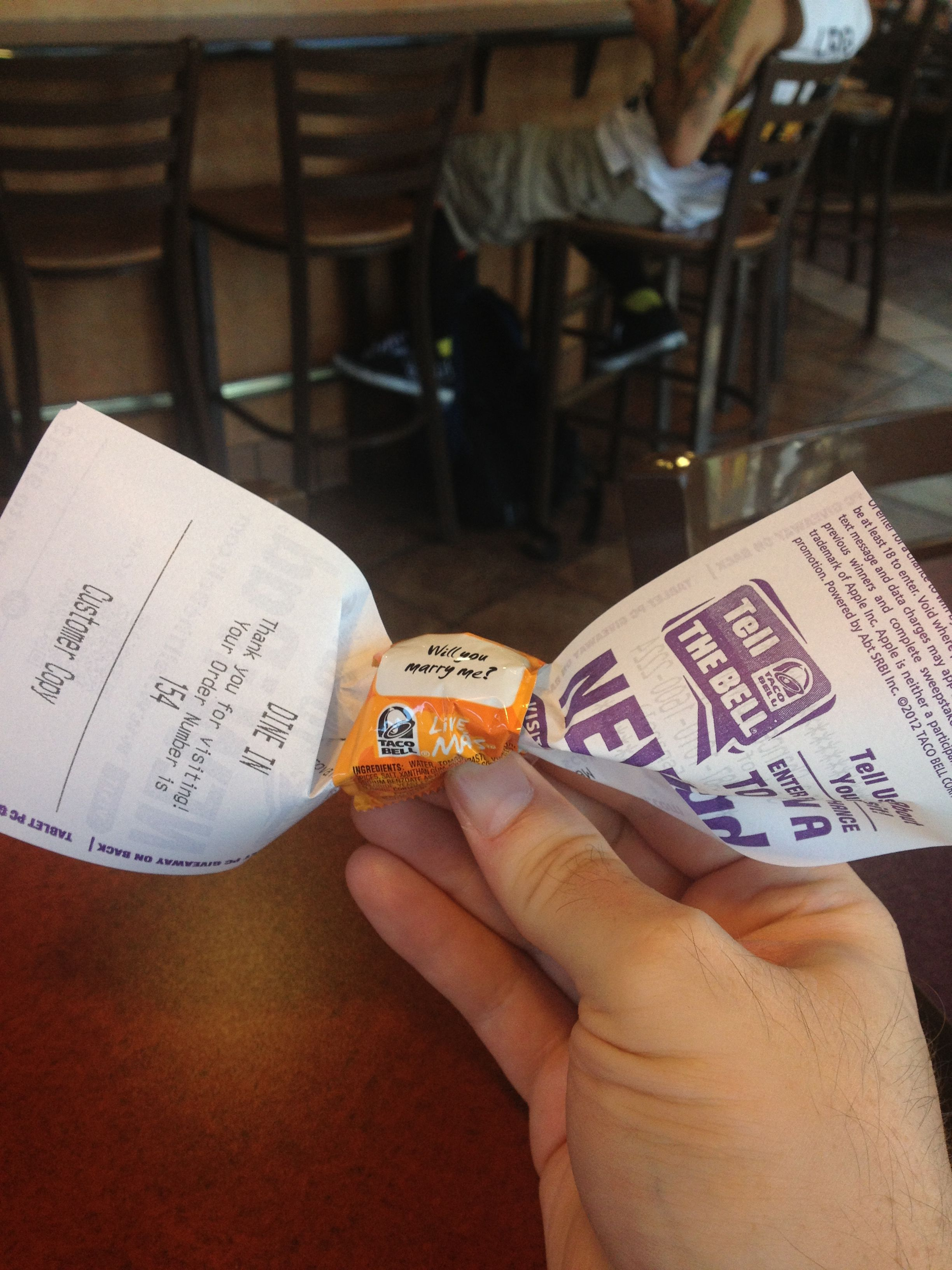 Taco Bell receipt Bowtie  LOL | Bowtie Lifestyle | Style