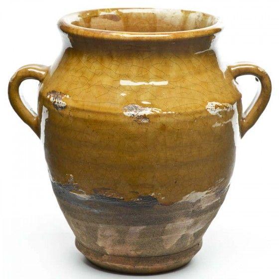 Ceramic Confit Vase II - Decorative Accents - Home Decor | Southern Homes & Gardens