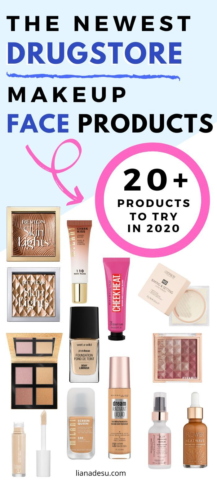 New MustTry Drugstore Makeup in 2020 Face Products in