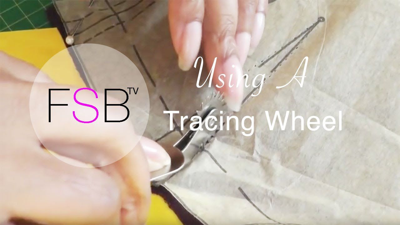 Using a Tracing Wheel. This is a method of transferring sewing pattern  information. If you want to use or try this method then you're going to  need carbon ...
