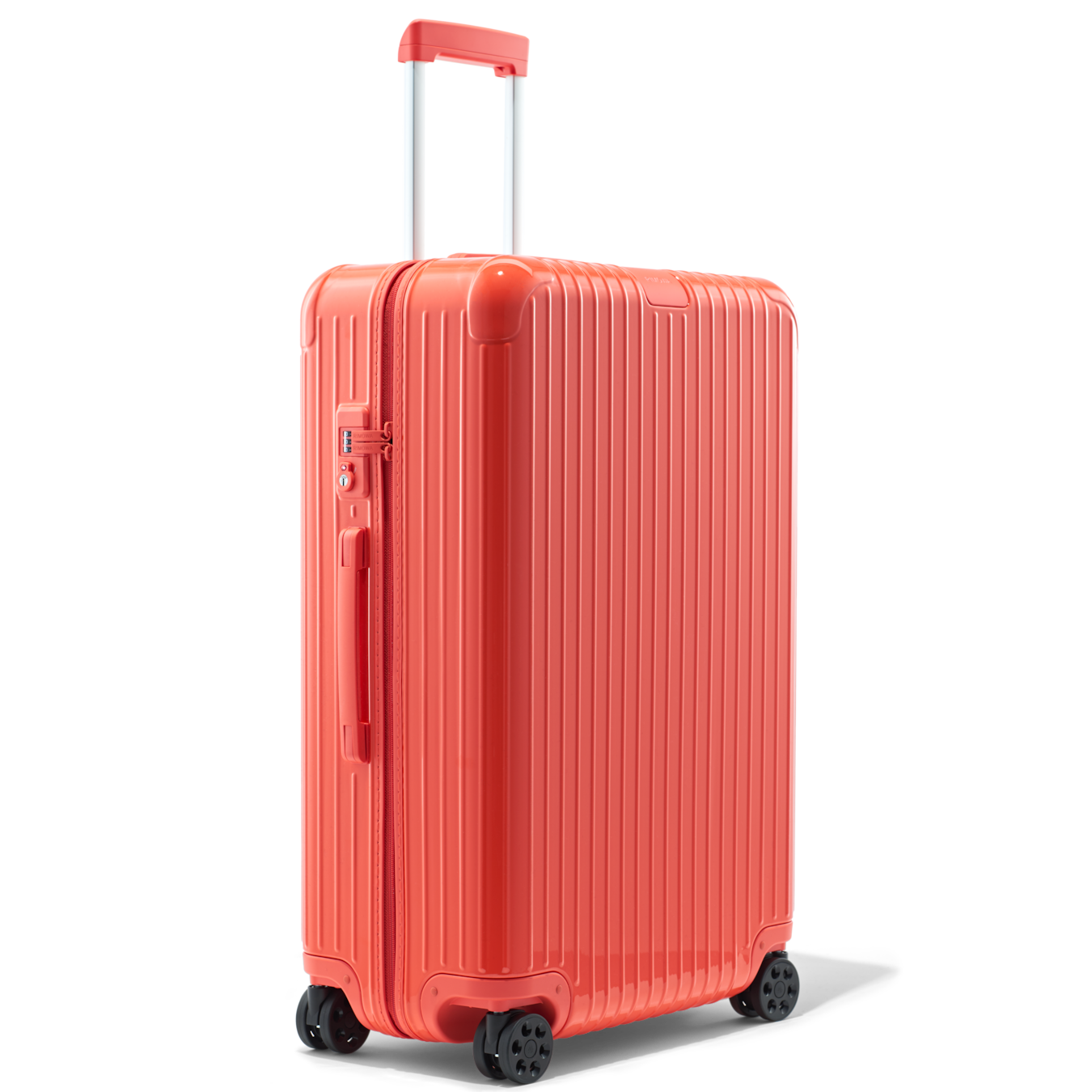 Essential Check In L Lightweight Suitcase Black Gloss Rimowa Rimowa Lightweight Suitcase Suitcase