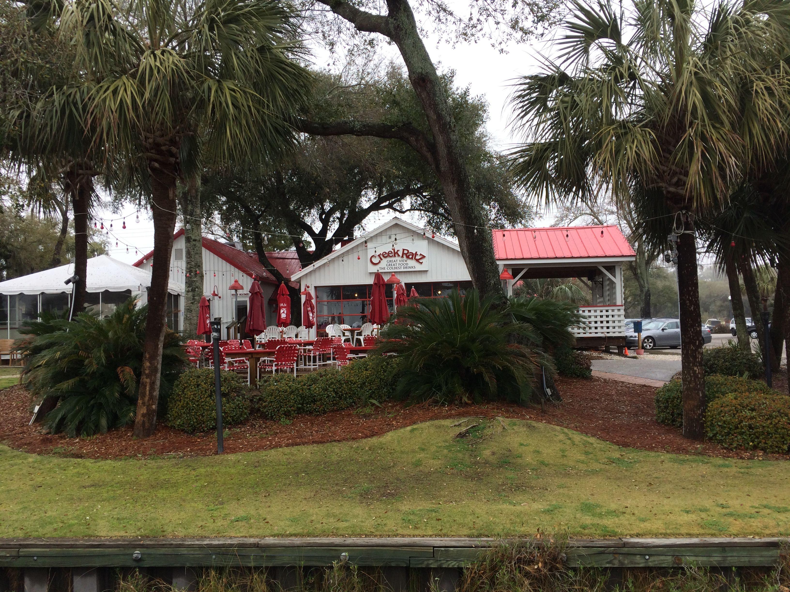 Fantastic Restaurant Creek Ratz On Murrell S Inlet Sc With