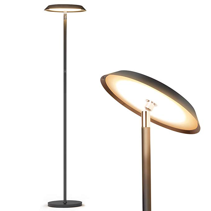 Stehlampe,LED dimmbare moderne hohe Stehlampen,industrielles