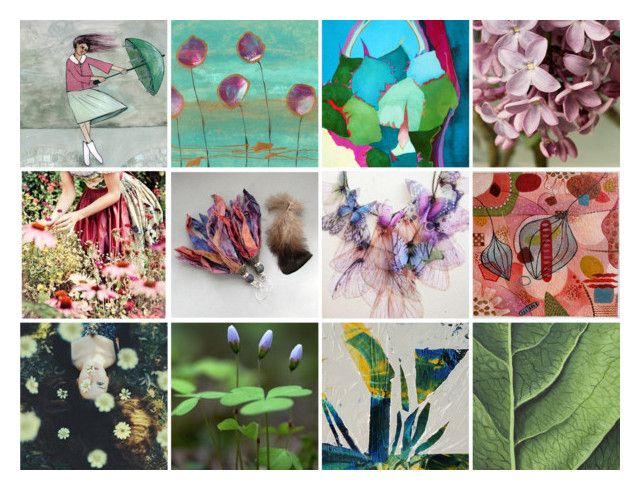 """""""Spring..."""" by info-3buu on Polyvore featuring arte e Etsyreloved"""