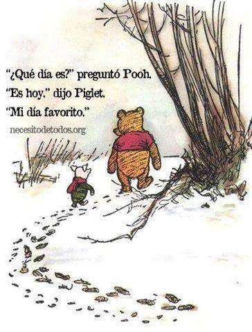 Mi Día Favorito Frases De Winnie The Pooh Frases Y