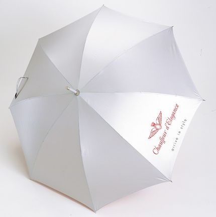 Corporate Aluminium Walking Umbrella. Put your brand in your customers hand!