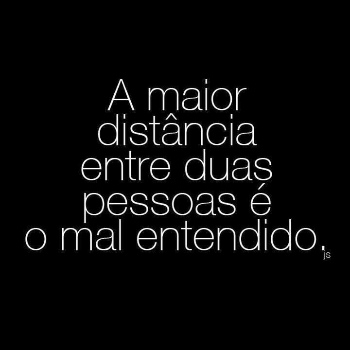#distancia #mal #entendido #malentendido