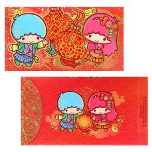 【2014】【New Year】Red Pocket (16.6x9cm, 4PCS)(Manufacturer: ELLON Hong Kong) ★Little Twin Stars★★