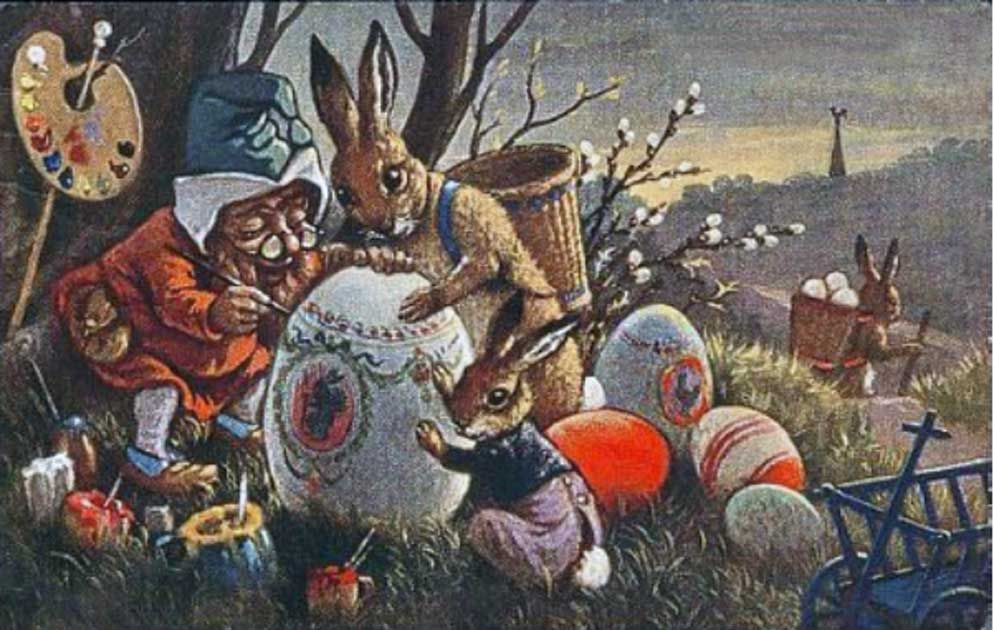 Image result for easter bunny history