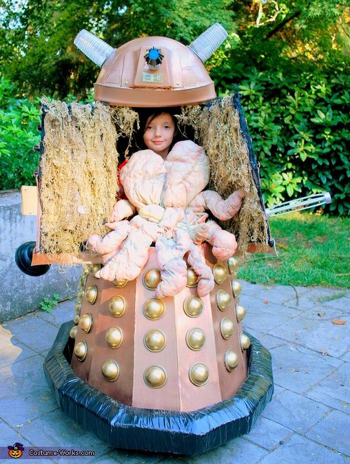 Doctor Who Dalek Costume - 2013 Halloween Costume Contest via @Merry China Falk Works