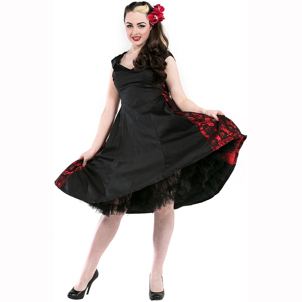 Robe Gothique Pin-Up Dead Threads