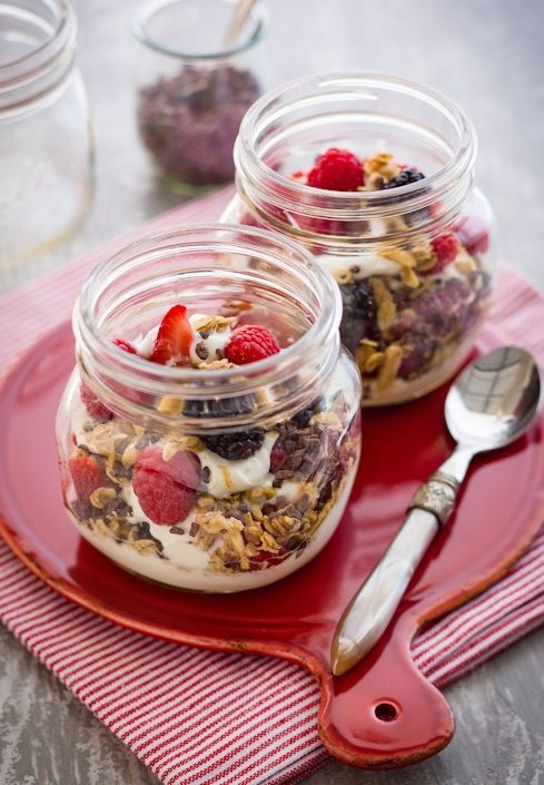 Who Has The Time And Energy To Make A Fabulous Breakfast On A Busy Weekday Morning You Maybe Once Y Desayunos Nutritivos Desayunos Con Fruta Desayunos Sanos