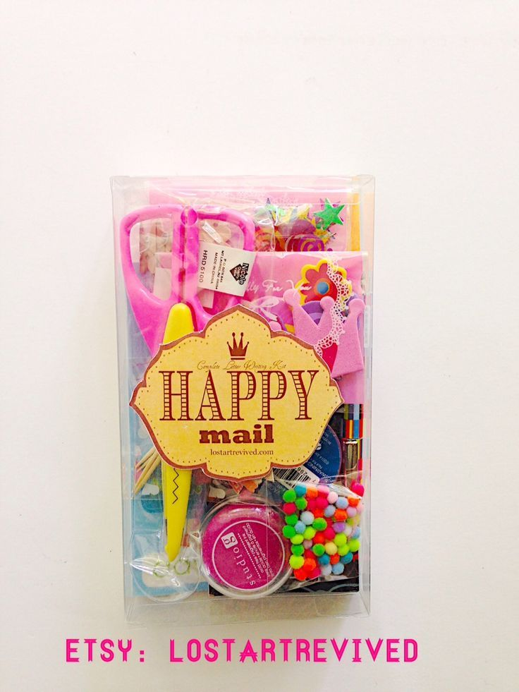 Send Some Happy Mail With This Happy Mail Letter Writing Kit