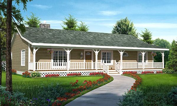 Vandenhaven Country Ranch Home Ranch Style House Plans Ranch Style Homes Ranch House Plans