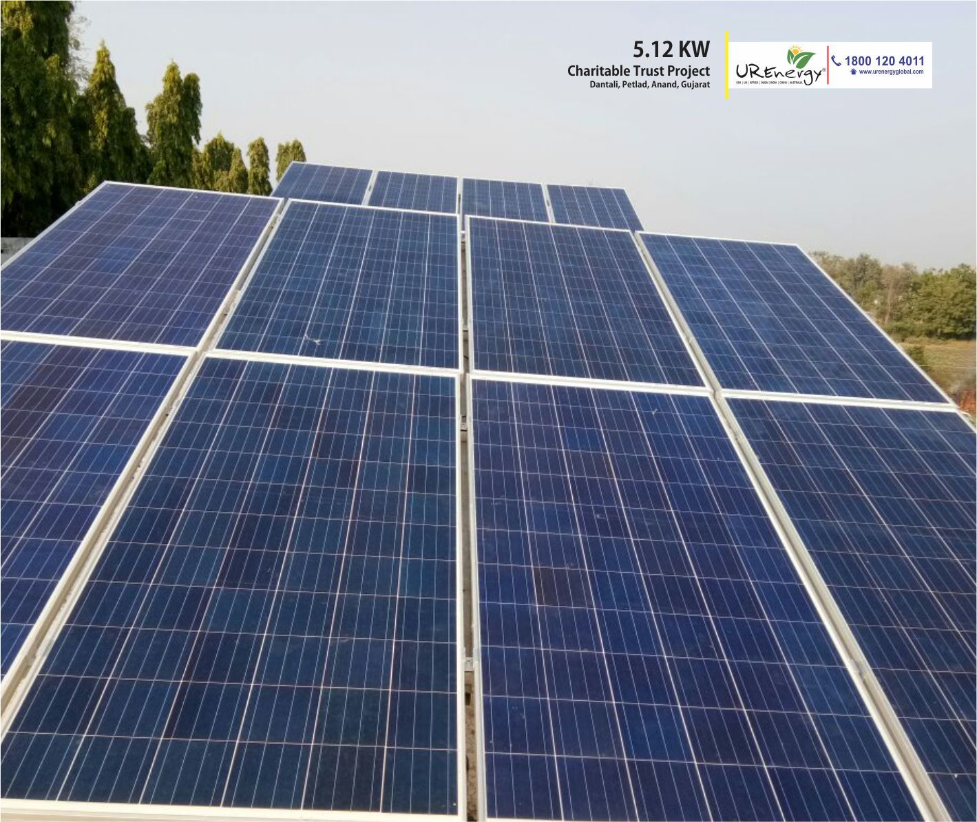5 12 Kw Sachidanand Seva Charitable Trust Rooftop Solar Panel Project