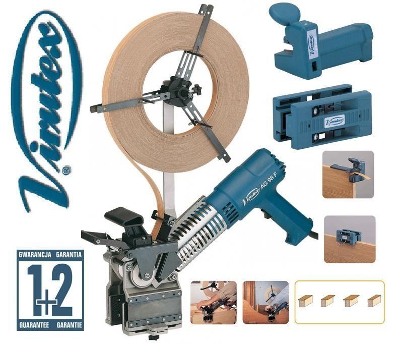 VIRUTEX AG98F/AU93/RC21E/edge bander/edge trimmer/end trimmer/HAND ...