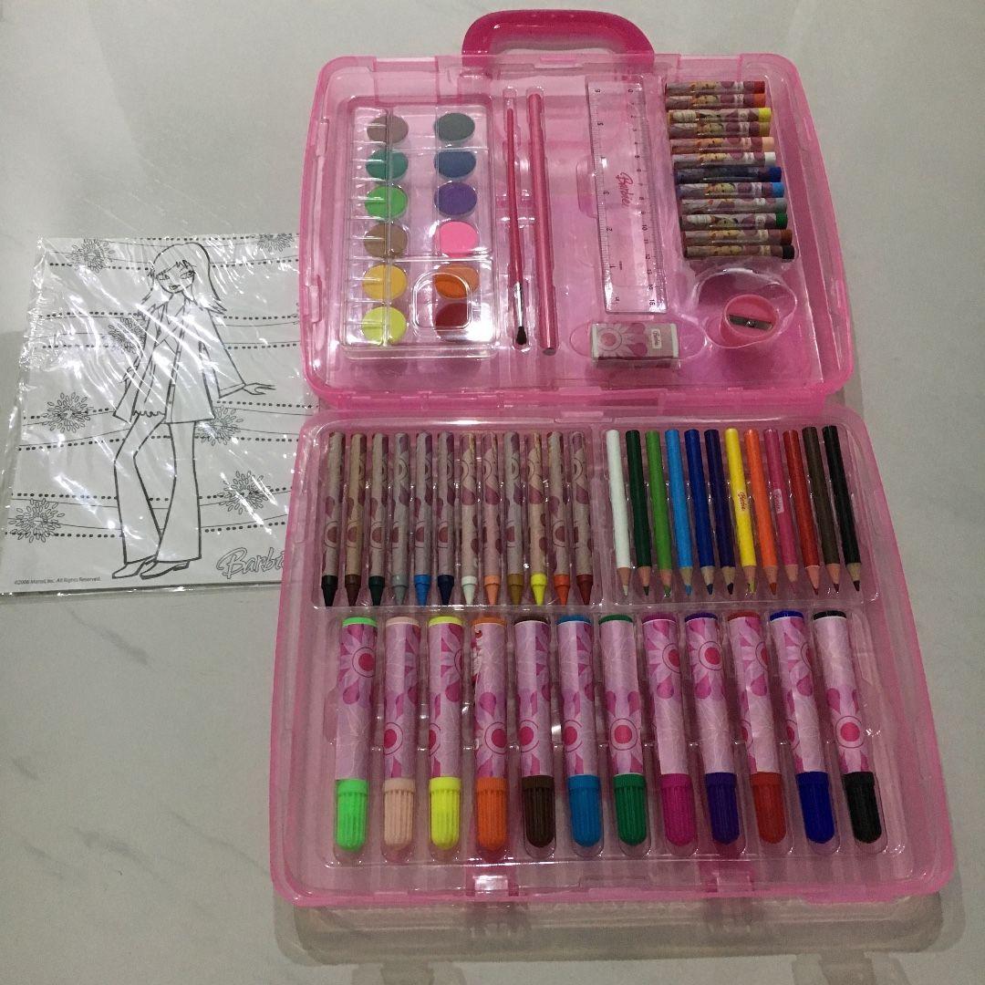 Barbie Coloring Set
