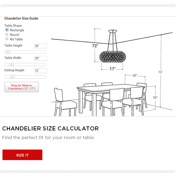 Chandelier Size Calculator Ceiling Height Chandelier Table Sizes
