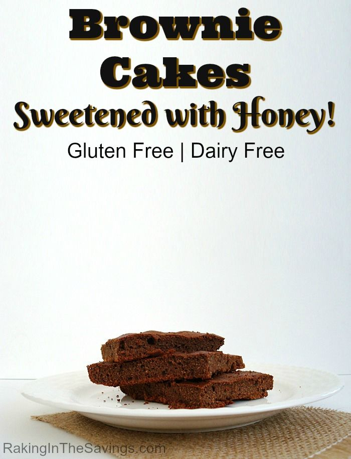 If you eat gluten free or dairy free, this is a pretty good recipe to try. It is a recipe for gluten free brownie cakes.