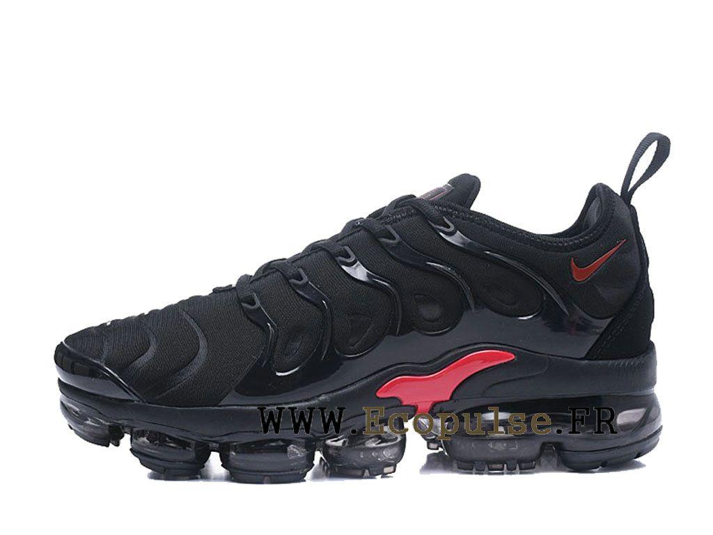510a4571d8d Nike Air VaporMax Plus 2018 Chaussures Bleached Aqua TN Pas Cher Homme Noir    rouge AO4550-ID12