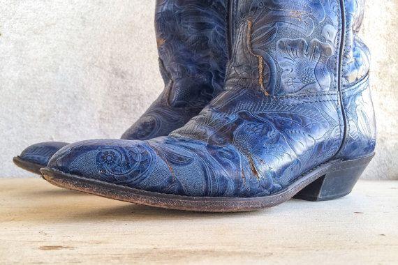 530012e1f20 Vintage blue paisley Code West Women's cowboy by romaarellano | my ...