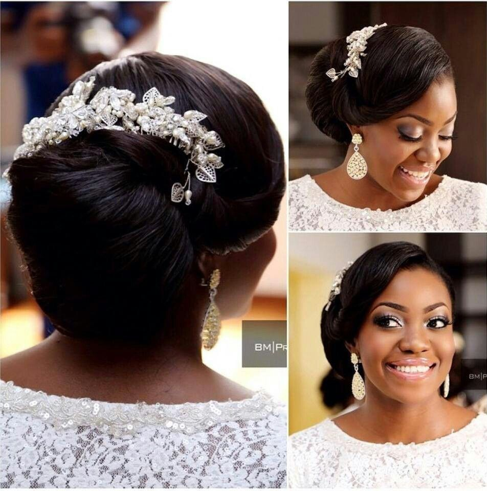 Pin by Preye Abaye on My dream wedding | Bridal hair inspiration, Hair styles, Bride hairstyles