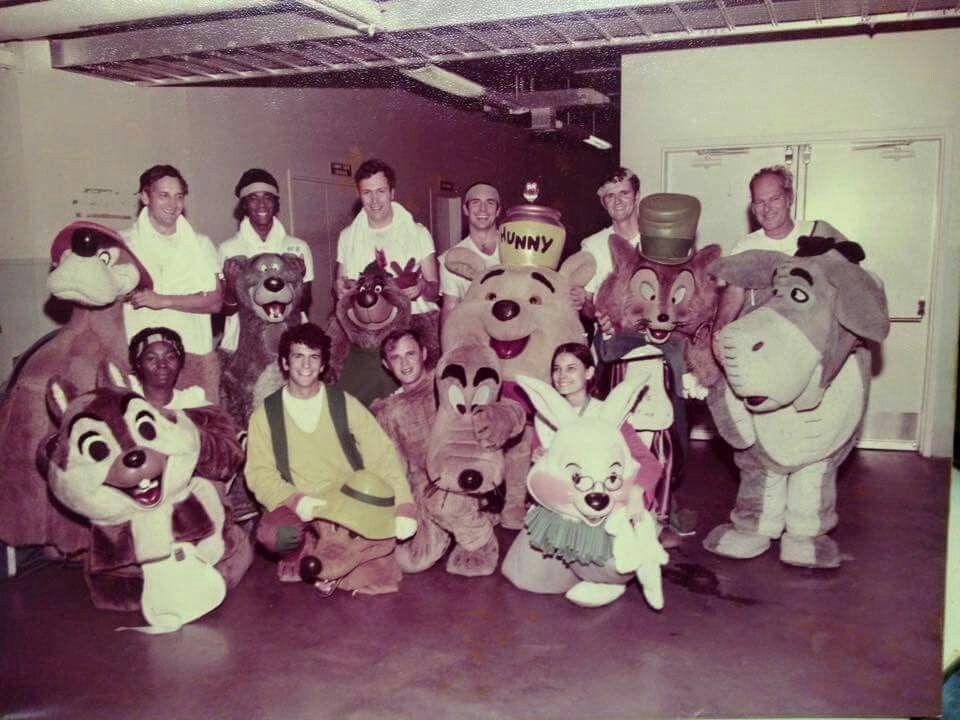 Vintage Disney characters